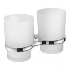 A1908 (2-стаканов/стекло с держателем. для зубн/щеток)
