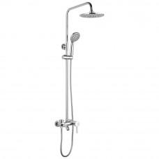 A2416 (душ/система/смес. хром. излив/лейка/верх/душ, латунь, латунь)