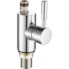 A4053 (корпус для комбинированного смесителя ф40 хром, латунь ) Комплектуется изливами B01-B07