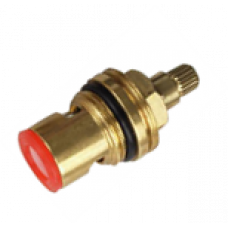 Кран-букса металлокерамическая 1/2'' дюйма 20 шлицов на 90º (с резьбой)