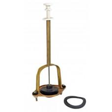 Колонка вертикального слива анодированная, латунный шток, резиновая груша ( 50 шт\меш.) (ТУЛА)